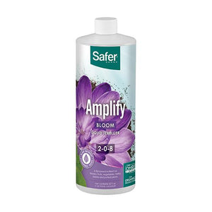 Safer® Brand Amplify Hydroponic Liquid Fertilizer Concentrate - Qt