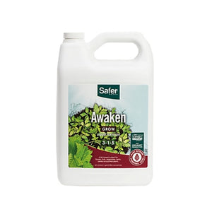 Safer® Brand Awaken (3-1-5) Liquid Nutrient Fertilizer Concentrate -Gal