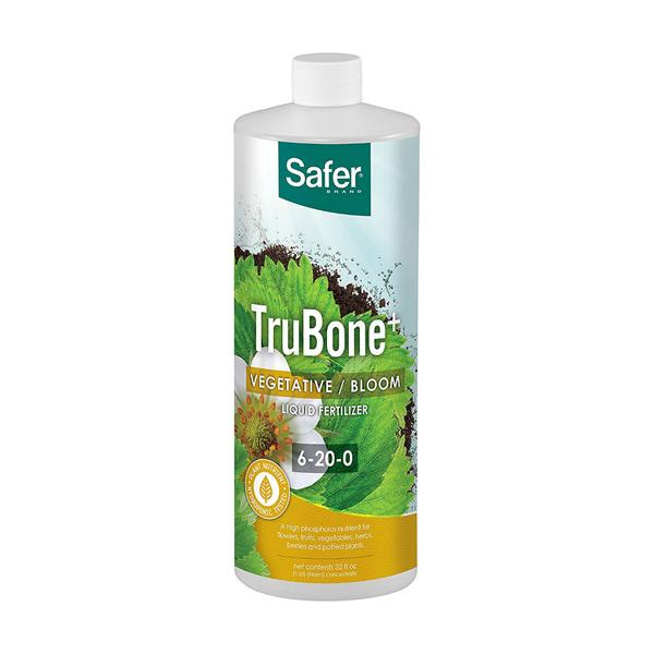 Safer® Brand Trubone+ Liquid Nutrients for Hydroponics- Qt