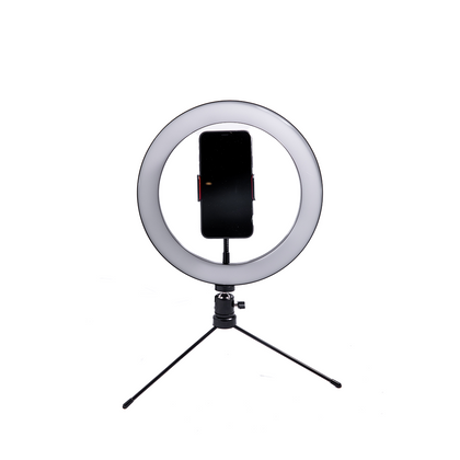10-inch LED Ring Light with Tripod Bundle