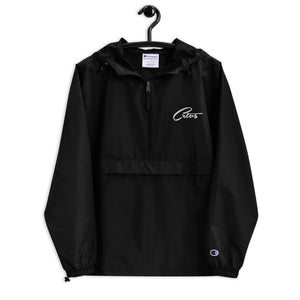 Crtvs London x Champion Embroidered Packable Jacket