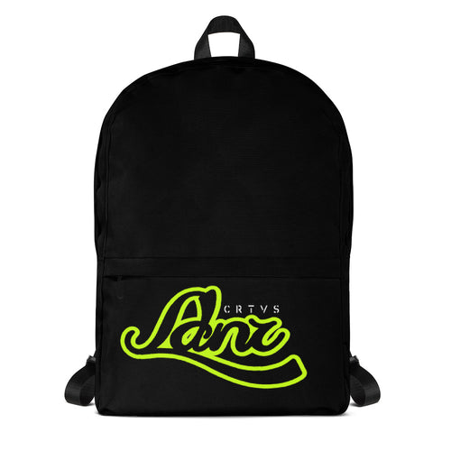 C R T V S L D N Lime Green Backpack