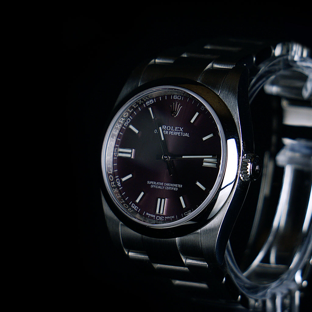 "Rolex-Oyster Perpetual 36mm 116000 ""Grape""-fabriqe.com"