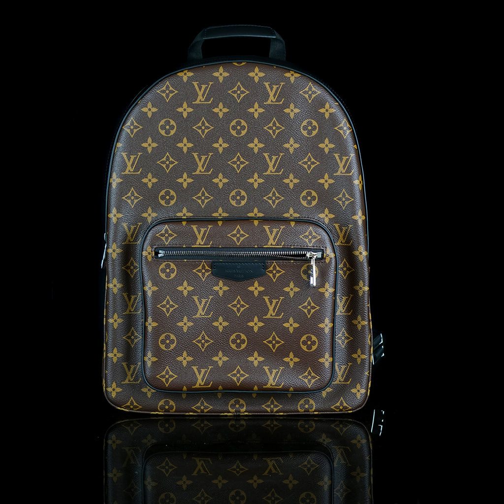 Josh Monogram Backpack Canvas
