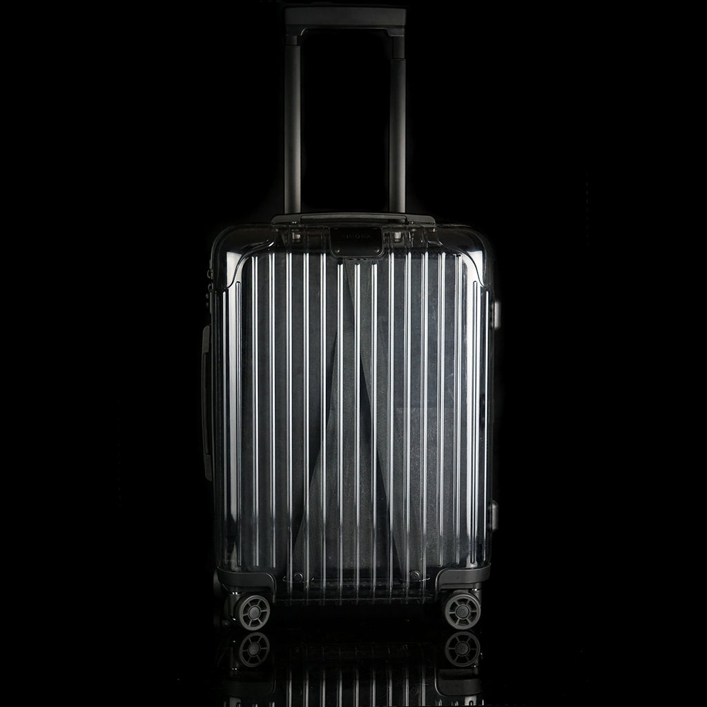 Off-White Transparent  Black Suitcase 36L