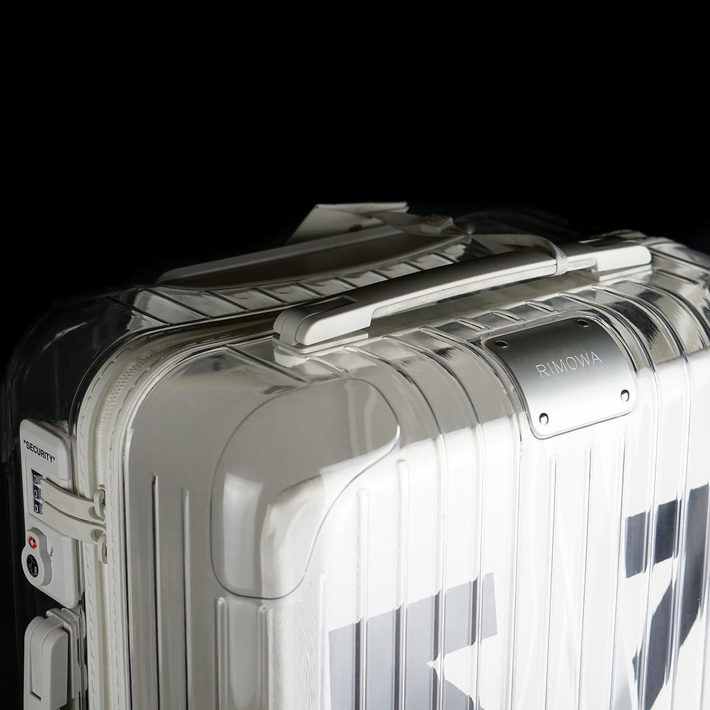 Off-White Topas Multiwheel Transparent Suitcase