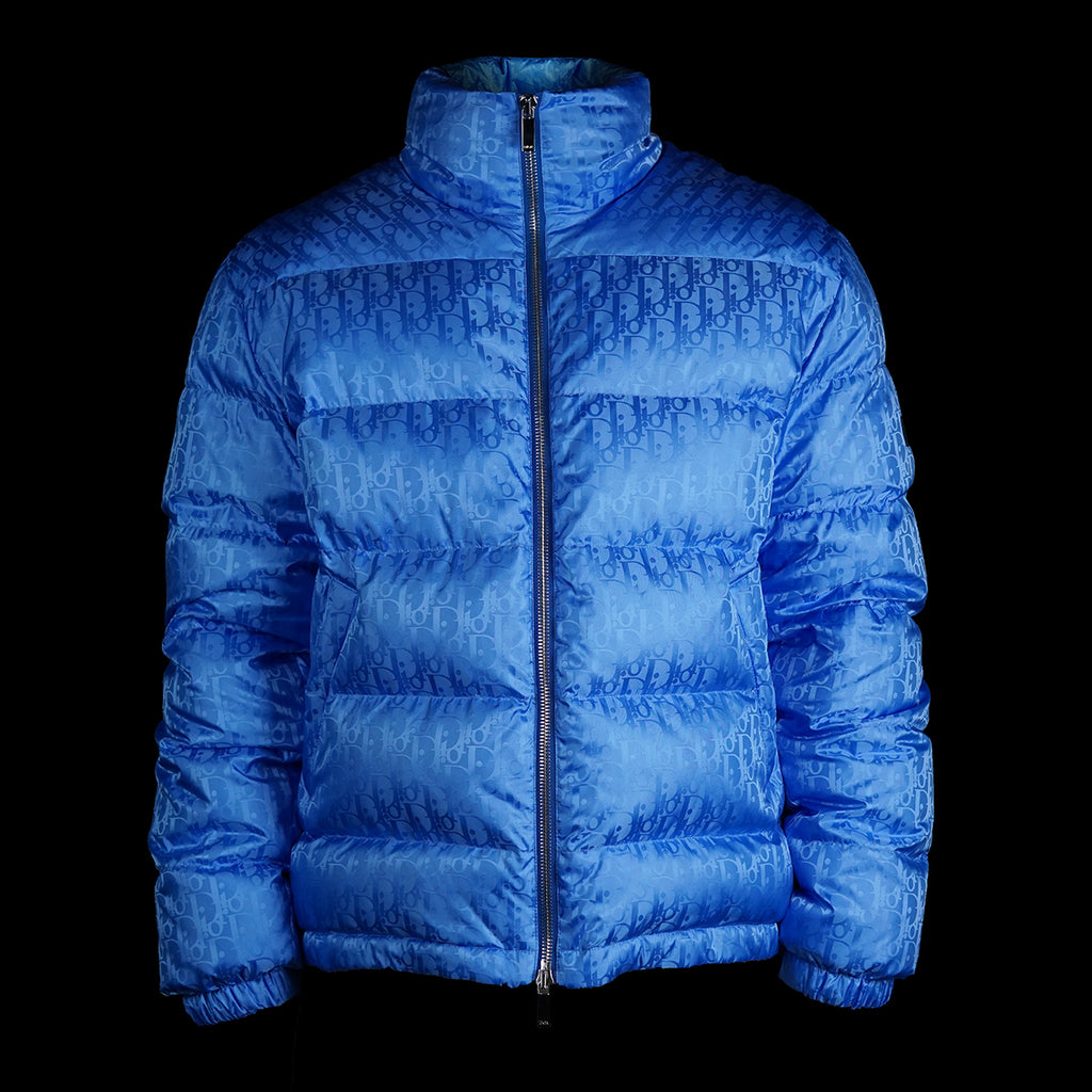 Oblique Puffer Jacket