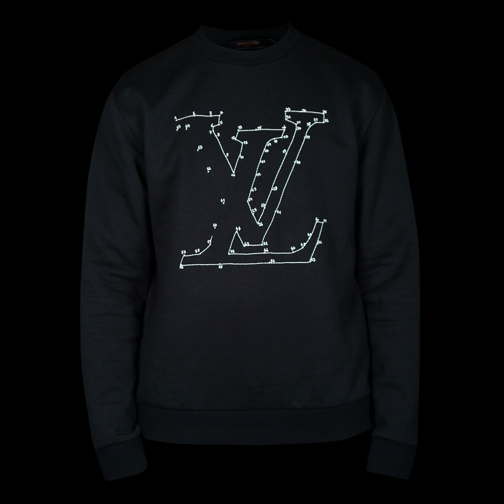 LV Stitched Embroidered Sweat Top