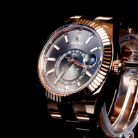 Sky-Dweller Rose gold 326935 Rhodium