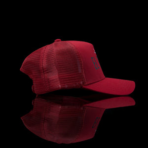 Sultan Est-Cap-El Patron (Arabic) One Size Fits All Red-fabriqe.com