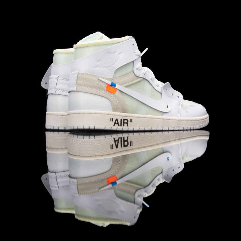 Nike-Air Jordan 1-Product code: AQ8296-100 Colour: White/White Year of release: 2018-fabriqe.com