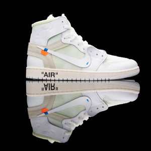 Nike-Air Jordan 1-Product code:åÊAQ8296-100 Colour: White/White Year of release: 2018-fabriqe.com