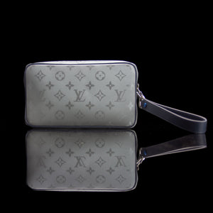 Louis Vuitton-Alpha Satellite Monogram Clutch-fabriqe.com