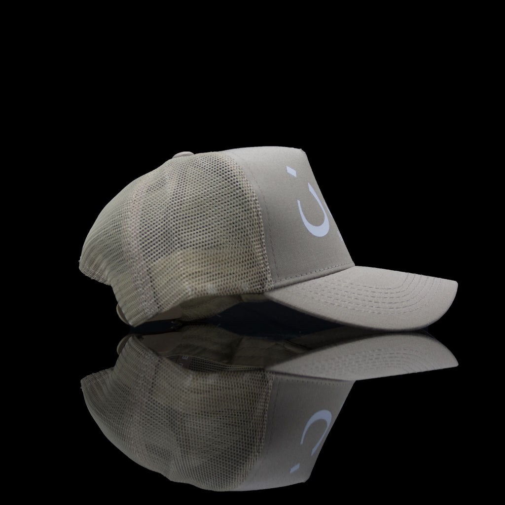 Sultan Est-Cap-London (Arabic) One Size Fits All Beige White-fabriqe.com
