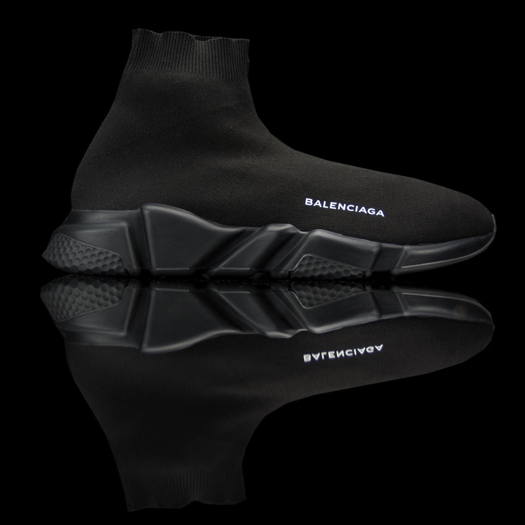 Balenciaga-Speed Knit-Product Code: 485625 W05G0 1000 Colour: Noir - Black Black Limited Stock Material: Textile Sock, Rubber Sole-fabriqe.com