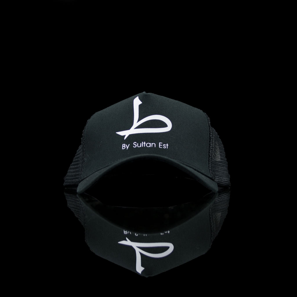 Sultan Est-Cap-Ra' (Arabic) One Size Fits All Black White-fabriqe.com