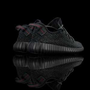 Adidas-Yeezy Boost 350-Product code: AQ2659 Colour: Pirate Black/Pirate Black-Pirate Black Year of release: 2015-fabriqe.com
