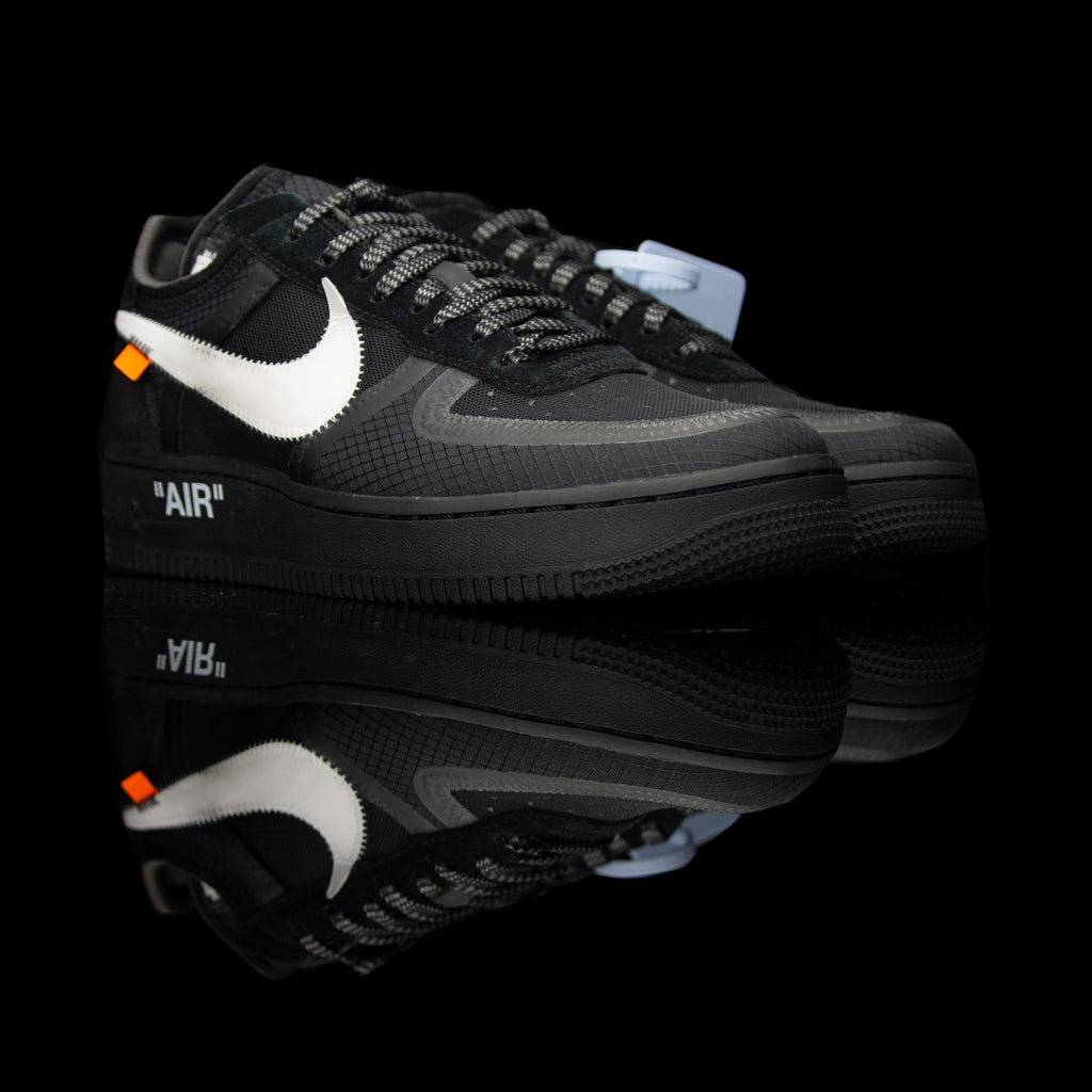 Nike-Air Force 1-Product code:åÊAO4606-001 Colour: Black/White-Cone-Black Year of release: 2018-fabriqe.com