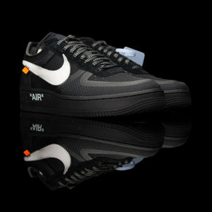 Nike-Air Force 1-Product code: AO4606-001 Colour: Black/White-Cone-Black Year of release: 2018-fabriqe.com