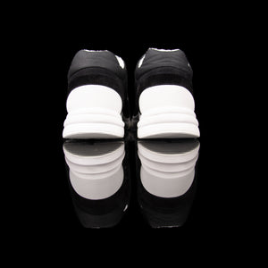 Chanel-CC Sneakers-Pre Order Duration (3-5 Working Days) CC Logo on side White Reflective 3m pipping and back Black, White 3m Release: 2019 Limited Release Suede Nylon 3m-fabriqe.com