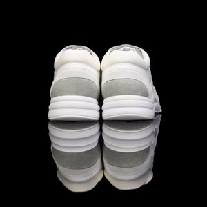 Chanel-CC Sneakers-Pre Order Duration (3-5 Working Days) CC Logo on side Cream, White,Grey, Royal Blue Suede, Rubber Sole 2018 Release Limited Stock Chanel CCs crafted in leather and suede fabric sports CC branding on the side. Composed in leather with the suede line finish and platformed on rubber sole. Also, the color of white, grey and royal blue is sure to grab the spotlight!-fabriqe.com