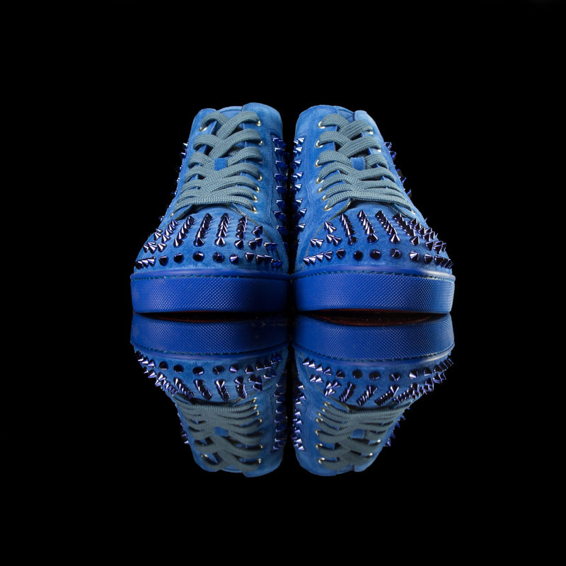 Christian Louboutin-Louis Flat-Product Code: Colour: Blue Azzuro Discontinued Material: Suede-fabriqe.com