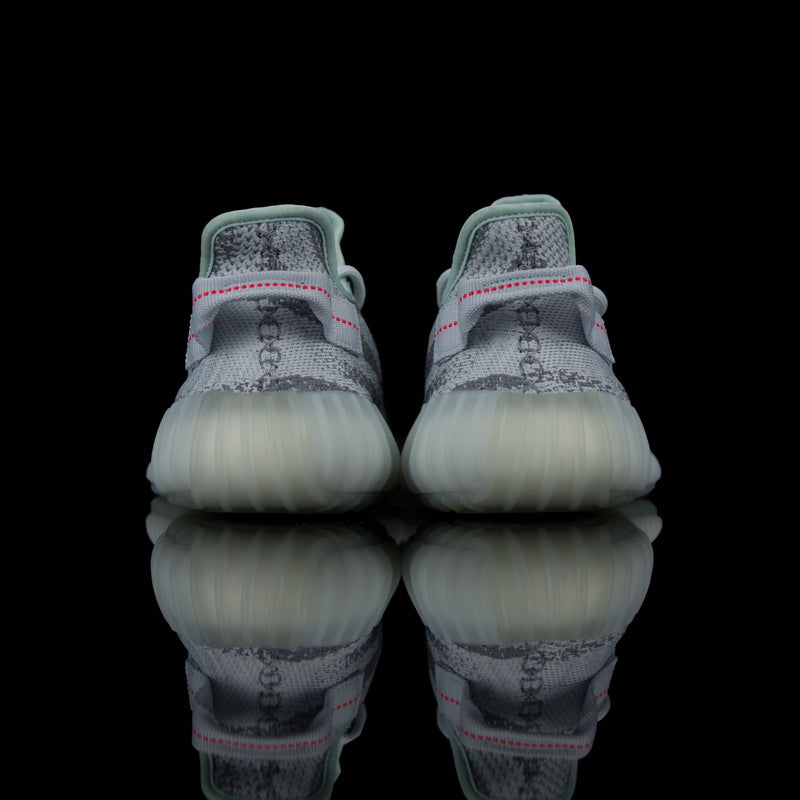 Adidas-Yeezy Boost 350-Product code: B37571 Colour: Blue Tint/Grey Three/High Risk Red Year of release: 2017-fabriqe.com