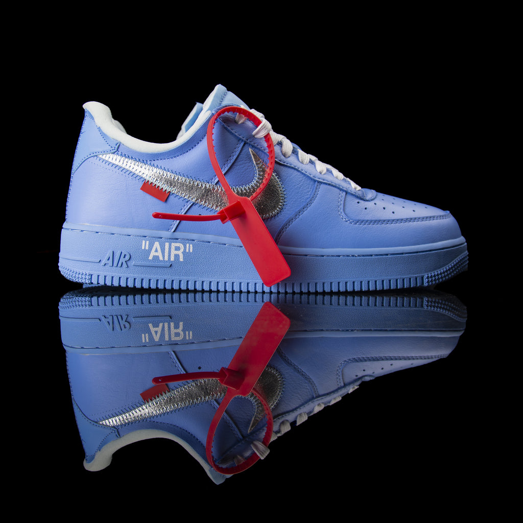 Nike-Air Force 1-Product Code:åÊCI1173-400 Colour:åÊUNIVERSITY BLUE/METALLIC SILVER-WHITE Year of release: 2019-fabriqe.com