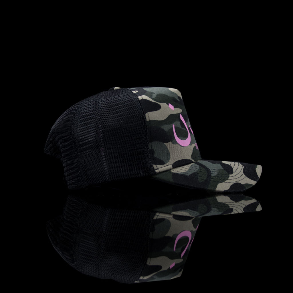 Sultan Est-Cap-London (Arabic) One Size Fits All Camo Pink-fabriqe.com