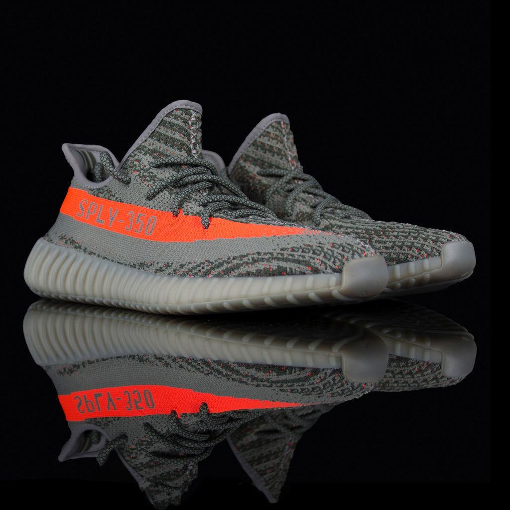 Adidas-Yeezy Boost 350-Product code: BB1826 Colour: Steeple Grey/Beluga/Solar Red Year of release: 2016-fabriqe.com