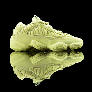 Adidas-Yeezy 500-Product code: DB2966 Colour: Super Moon Yellow/Super Moon Yellow/ Super Moon Yellow Year of release: 2018-fabriqe.com