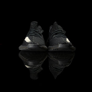 Adidas-Yeezy Boost 350-Product code: BY1604 Colour: Core Black/Core White/Core Black Year of release: 2016-fabriqe.com