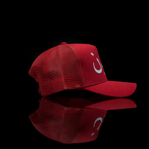 Sultan Est-Cap-London (Arabic) One Size Fits All Red White-fabriqe.com