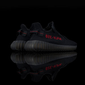 Adidas-Yeezy Boost 350-Product code: CP9652 Colour: Core Black/Core Black/Red Year of release: 2017-fabriqe.com