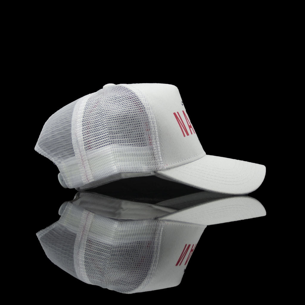 Sultan Est-Cap-Narcos (Arabic) One Size Fits All White Red-fabriqe.com