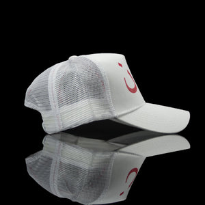 Sultan Est-Cap-London (Arabic) One Size Fits All White Red-fabriqe.com