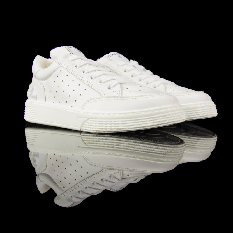 Chanel Sneakers Low Leather