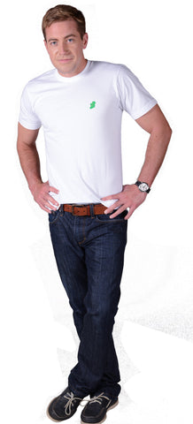 The Ireland T-Shirt™ - Slim Fit - White - Shirts of the World