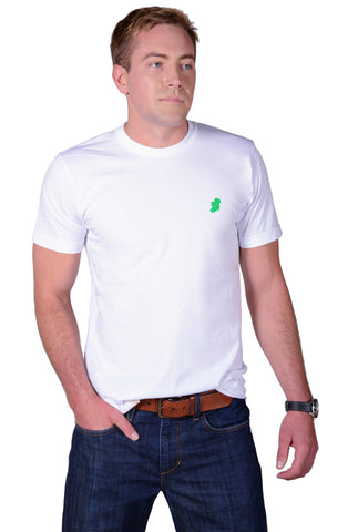 The Ireland T-Shirt™ - Casual Fit - White - Shirts of the World