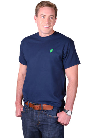 The Ireland T-Shirt™ - Casual Fit - Navy - Shirts of the World