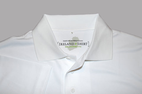 The Ireland Shirt™ - White - Shirts of the World
