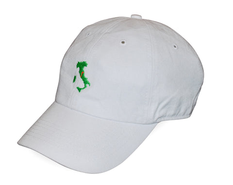 The Italy Hat™ - White - Shirts of the World