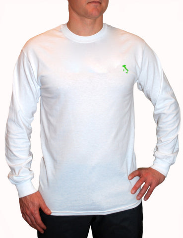 The Italy Long T-Shirt™ - White - Shirts of the World