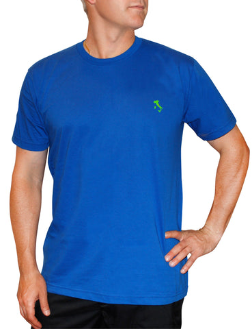 The Italy T-Shirt™ - Slim Fit - Royal - Shirts of the World