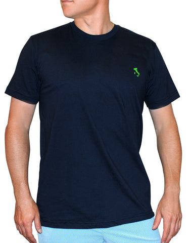 The Italy T-Shirt™ - Slim Fit - Navy - Shirts of the World