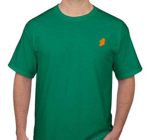 The Ireland T-Shirt™ - Casual Fit - Green - Shirts of the World