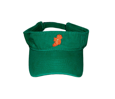 The Ireland Visor™ - Kelly Green - Shirts of the World