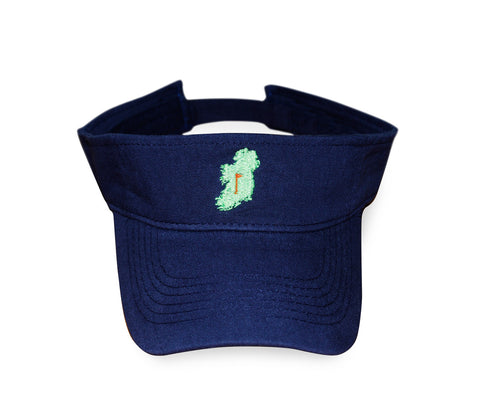 The Ireland Visor™ - Navy - Shirts of the World
