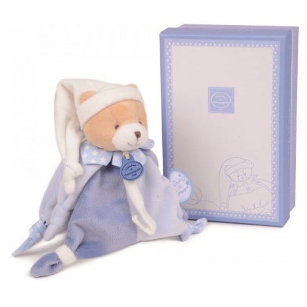 Doudou et Compagnie Bear Petit Chou with Dummy holder