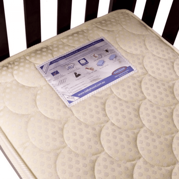 Babyhood Orthopedic Breathe Eze Innerspring Mattress (with Zip-Off Cover)